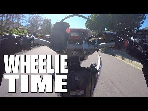 Balance Point Wheelies - Motorcycle Riding Techniques