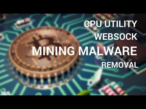 CPU Utility, Websock, Shadowsocks Crypto Mining Malware Removal