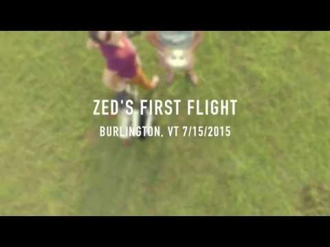 Zed's First Flight - DJI Phantom 3 Pro 4K