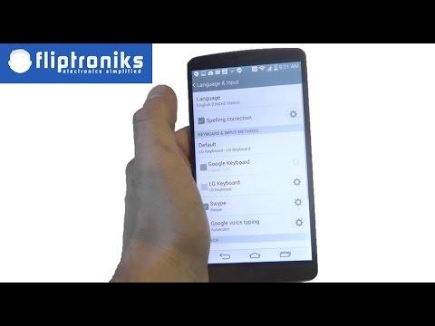 LG G3 Changing Languages - Fliptroniks.com