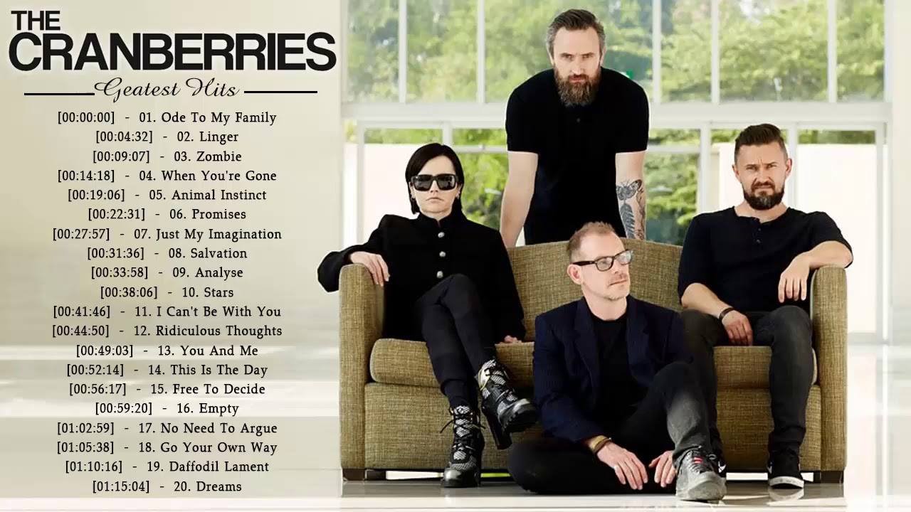 The Cranberries Greatest Hits Full Album - The Cranberries Best Songs Playlist