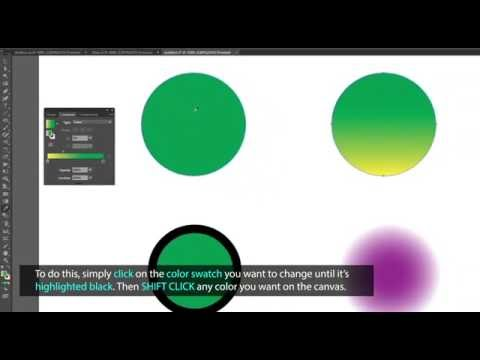 Illustrator Tips: Sample Colors and Edit Gradients with the Eyedropper