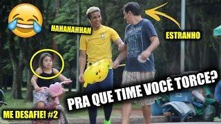 RINDO DO TIME DE ESTRANHOS!!! - ME DESAFIE #2