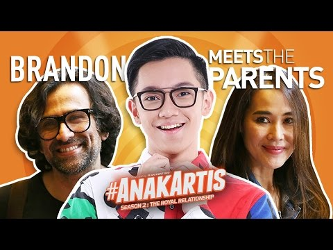 Anak Artis Season 2 - Brandon Meets The Parents