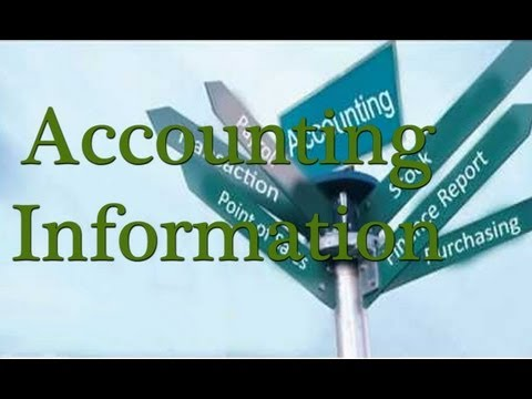 Accounting Information and Types - Learn Accounting Online