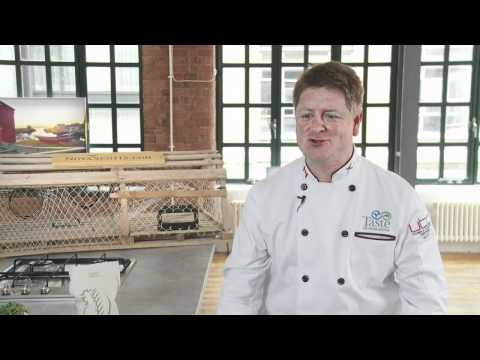 Chef Michael Howell talks about snow crab and sweet pea risotto and Nova Scotian food