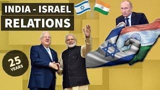 India - Israel Relations - भारत-इजरायल संबंध - International relations for UPSC / IAS