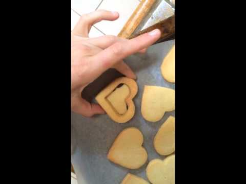 How to make Heart Cookie Boxes