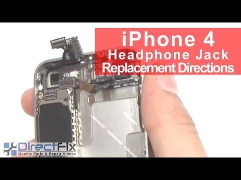FASTEST iPhone 4 Headphone Jack Repair
