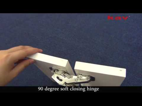 kav 90 degree self closing Frog Hinge --P90H