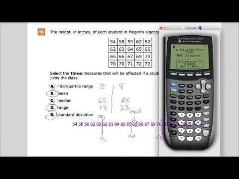 Question 16 -  Integrated Math 1  - TNReady Practice Test