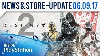 Destiny 2 ist da! | PlayStation News & Store Update