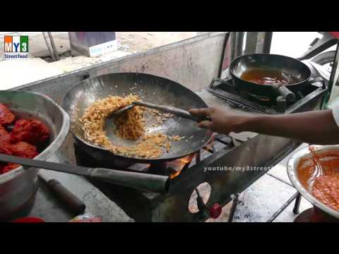 Vegetable Fried Rice Recipe | Indian (Indo) Chinese Recipes street food