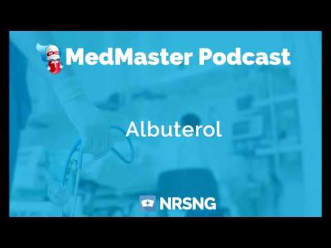 Albuterol Nursing Considerations, Side Effects and Mechanism of Action Pharmacology for Nurses