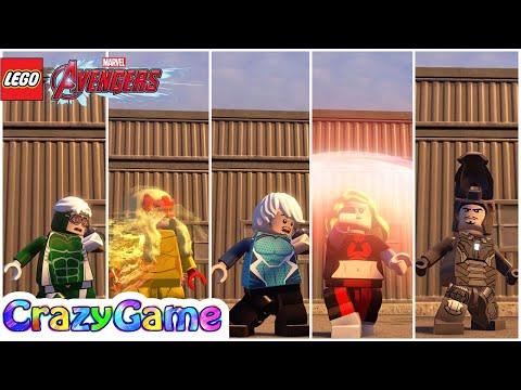 All #Speedsters Free Roam - #LEGO MARVEL's Avengers