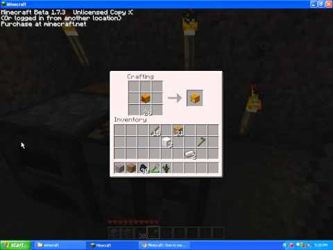 minecraft how to make a jack o lantern
