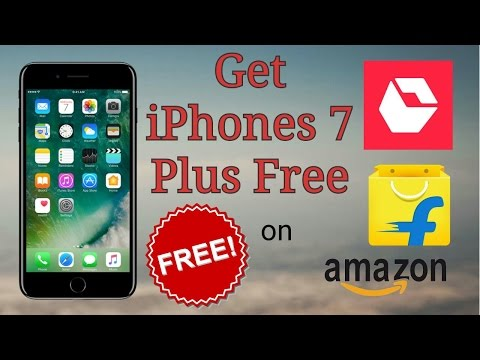 How to Get iPhone for Free | Win Free Apple iPhone 5, 6, 6S, 7, 7 plus on Flipkart , Amazon etc