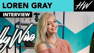 Loren Gray Reveals Kissing Her Co-Star 20 Times & Cries During Eminem's Performance! | Hollywire