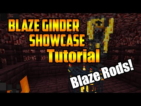 How to make a Blaze Grinder (Compact+Efficient)