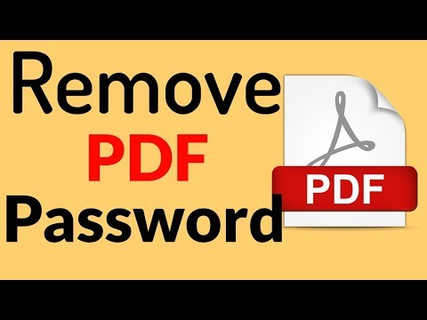 How To Remove Password From PDF File? | PCGUIDE4U