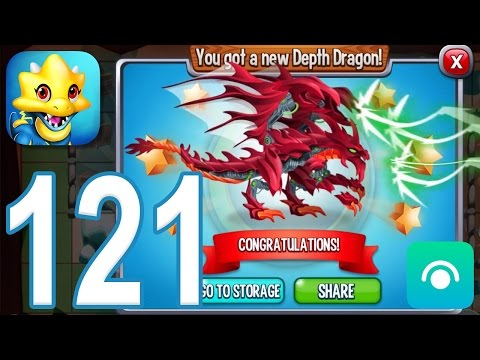 Dragon City - Gameplay Walkthrough Part 121 - Level 46, Depth Dragon (iOS, Android)