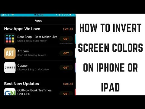 How to Invert Screen Colors on iPhone or iPad