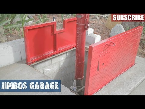 Concrete Vault Metal Doors - 2 of 2 - JIMBOS GARAGE