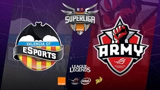 SUPER LIGA ORANGE-Jornada 3-Valencia CF eSports vs Asus Rog Army-Mapa 1-#SUPERLIGAORANGELOL3