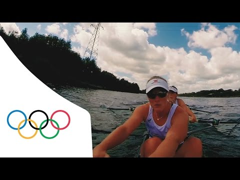 POV Rowing with Great Britain Women's Eight