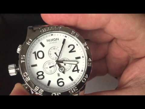 Nixon 51-30 Chrono High Polish White A083-488 Review