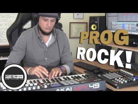70s Rock Sample Hip-Hop Beat Making Video