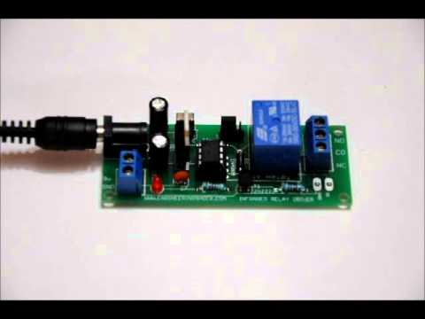 The Infrared Relay Toggler!  Includes Latching & Momentary Modes - Use Your TV Remote Control!