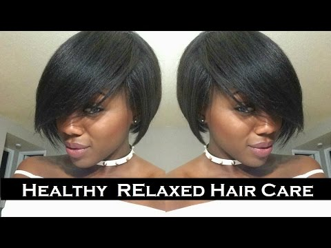 HEALTHY RELAXED HAIR | Maintenance