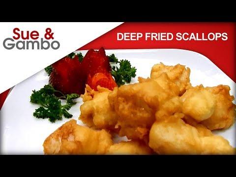 Deep Fried Scallops Recipe
