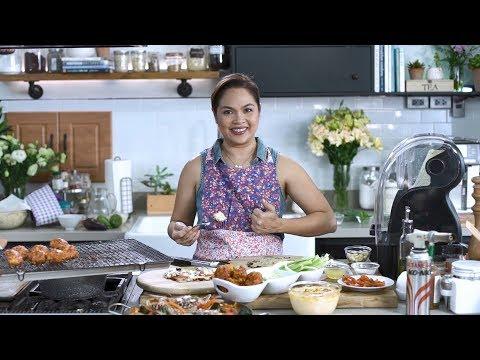 [Judy Ann's Kitchen 6] Ep 2: Cauliflower Power - Pizza, Paella, Mac and Cheese, etc