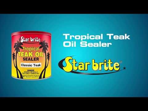 Star brite Teak Sealer - Teak Wood Finish - 3 Colors Available
