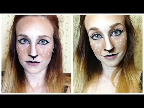 Faun/Fawn/Deer Halloween Makeup Tutorial