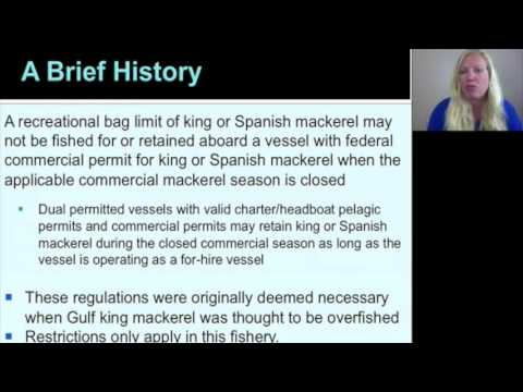 CMP Famework 5 - Commercial King and Spanish Mackerel  Permit Restrictions