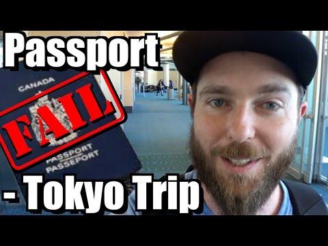 Passport Fail - Tokyo Trip