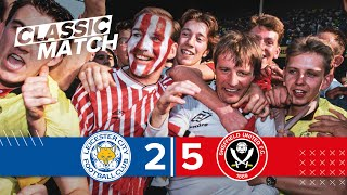 Sheffield United 5-2 Leicester City | Promotion to the first division in 1990