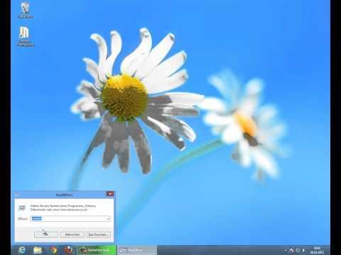 Windows 8 Firewall ausschalten