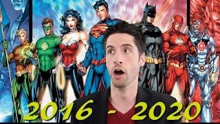 Warner Bros. Announces 10 Upcoming DC movies!