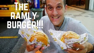 RAMLY BURGER- epic MALAYSIA STREET FOOD BURGER | Food and Travel Channel | Kuala Lumpur