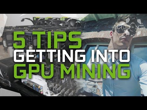 5 Tips, For Getting Into GPU Mining.