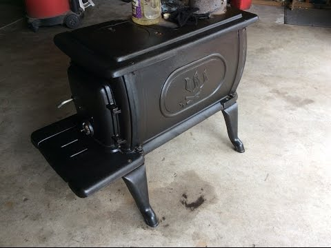 How to Remove Rust From Cast Iron Wood Stove and Refinish
