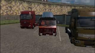 Euro Truck Simulator 2 [Mod review - Mercedes-Benz NG 1632 + sound]