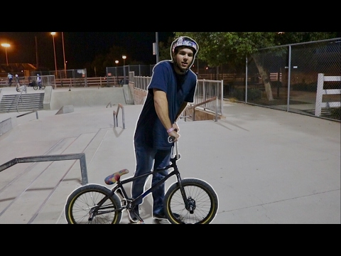 PRO SCOOTER RIDER RIDES CUSTOM BMX BIKE