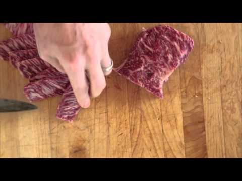 Salt Block Seared Wagyu Strip Steak Recipe