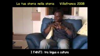 Alfred Koo Baiden GHANA I Fanti, tra lingua e cultura