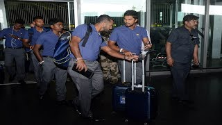 Watch: Why were the Lankan cricketers forced to stay on board in air?